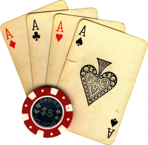 cards vintage transparent 300x293 Pokerlektion